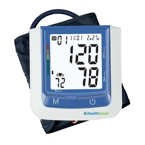 Briggs Healthcare Healthsmart Select Automatic Digital Blood Pressure Monitor in Blue without AC Adapter