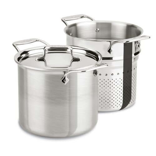 All-Clad d5 Brushed Stainless Steel 7-qt. Multi-Pot