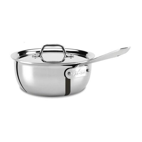 All-Clad Stainless Steel Weeknight Pan with Lid