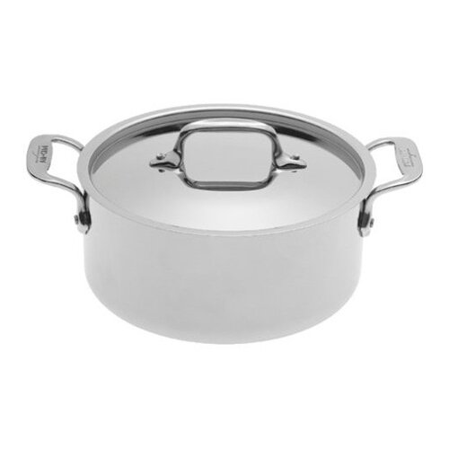 Stainless Steel Aluminum Round Casserole
