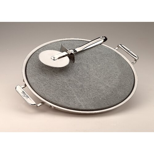 "All-Clad 13"" Pizza Baker with Serving Tray and Pizza Cutter"