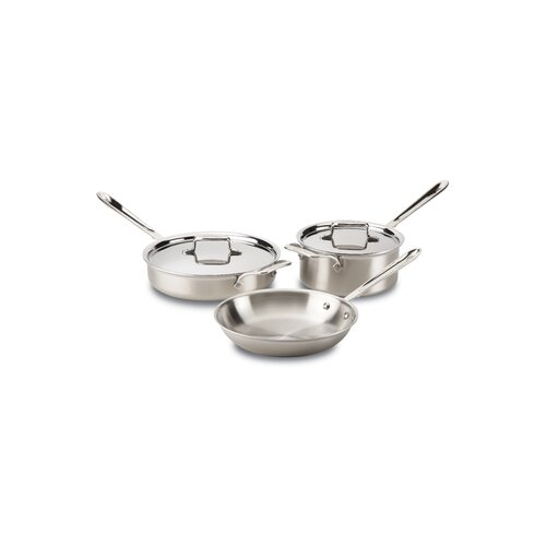 Stainless Steel 5-Piece Cookware Set