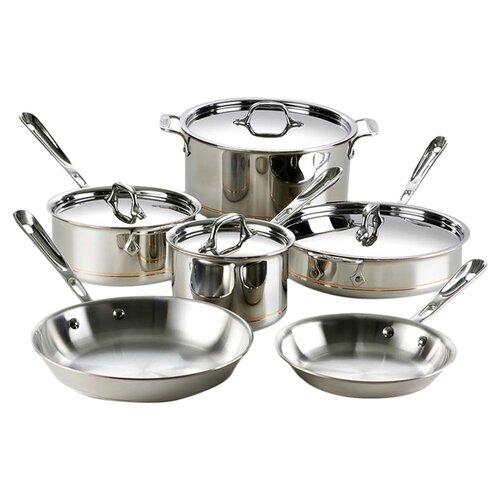 Copper Core 10-Piece Cookware Set