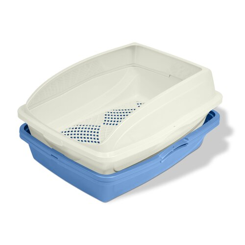 Sifting Frame Cat Litter Pan