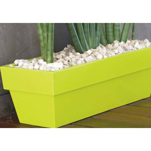 Vondom Fang Conic Jardiniere Lacquered Rectangular Flower Pot Planter