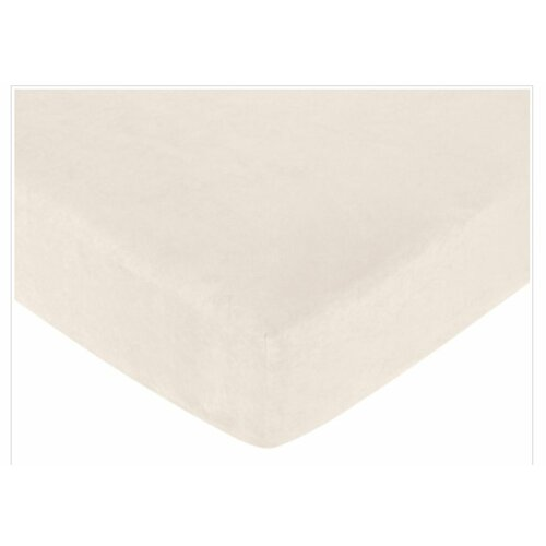 Teddy Bear Fitted Crib Sheet