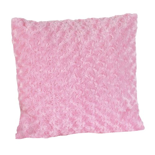 Madison Decorative Pillow with Minky Swirl