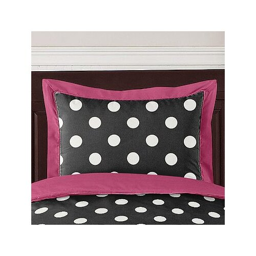 Sweet Jojo Designs Hot Dot Pillow Sham