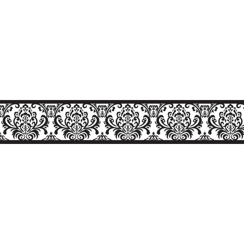 Sweet Jojo Designs Isabella Damask Wallpaper Border