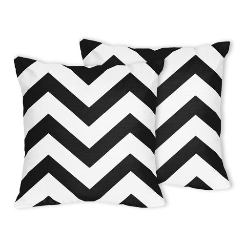 Chevron Accent Throw Pillows (Set of 2)