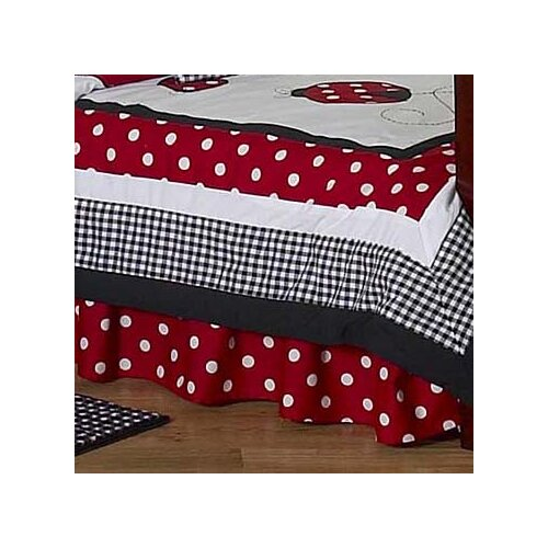 Sweet Jojo Designs Little Ladybug Toddler Bed Skirt
