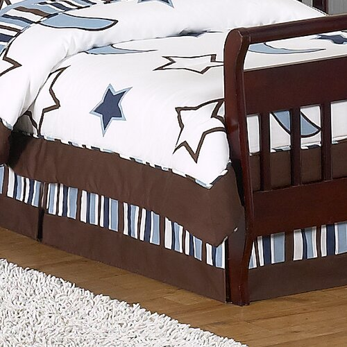 Sweet Jojo Designs Starry Night Toddler Bed Skirt