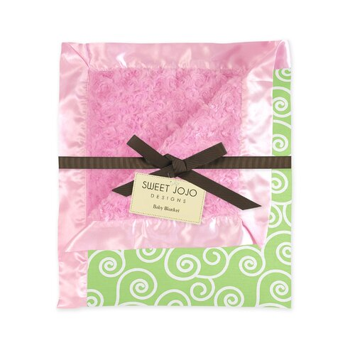 Sweet Jojo Designs Olivia Collection Baby Blanket