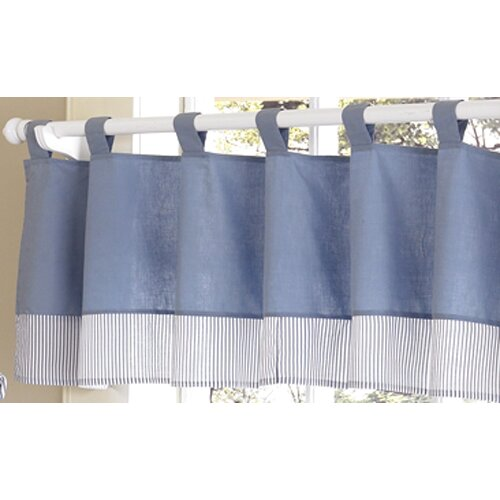"Sweet Jojo Designs Come Sail Away 84"" Curtain Valance"