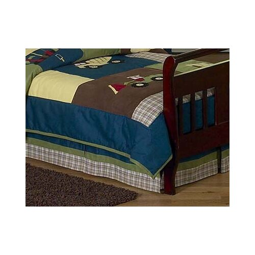 Construction Zone Toddler Bed Skirt