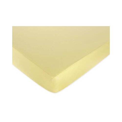 Sweet Jojo Designs Butter Yellow Fitted Crib Sheet