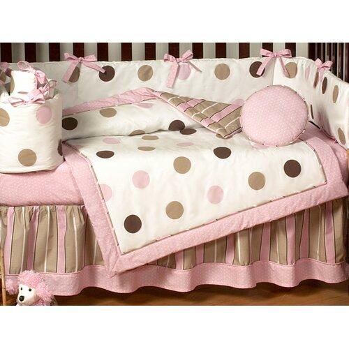 Sweet Jojo Designs Mod Dots Toddler Bed Skirt