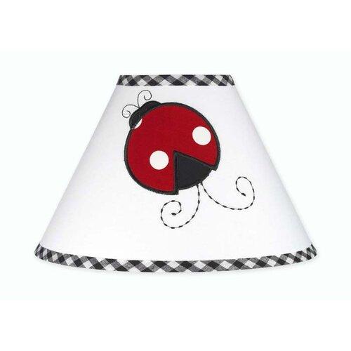 "Sweet Jojo Designs 10"" Little Ladybug Lamp Shade"