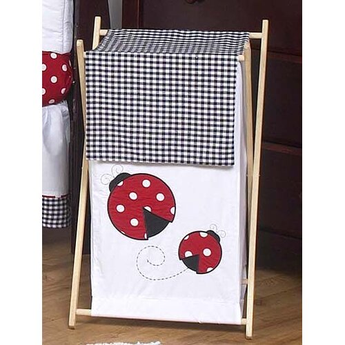 Sweet Jojo Designs Little Ladybug Laundry Hamper