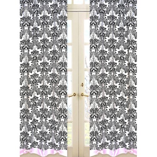 Sweet Jojo Designs Sophia Cotton Curtain Panel