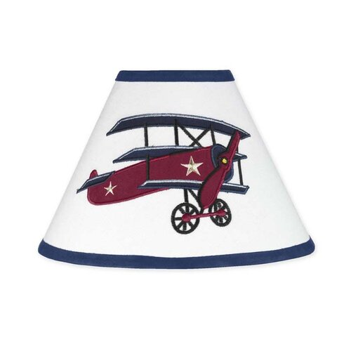 "Sweet Jojo Designs 10"" Vintage Aviator Lamp Shade"