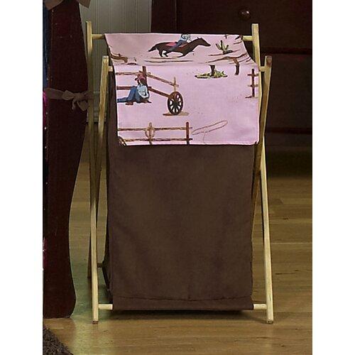 Sweet Jojo Designs Cowgirl Laundry Hamper