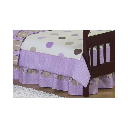 Sweet Jojo Designs Mod Dots Toddler Bed Skirt