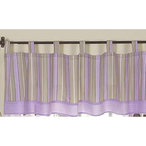"Sweet Jojo Designs Mod Dots 84"" Curtain Valance"