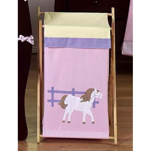 Sweet Jojo Designs Pony Laundry Hamper