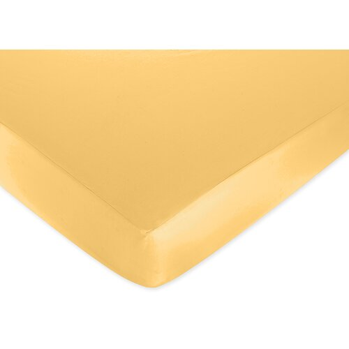 Sweet Jojo Designs Solid Fitted Crib Sheet