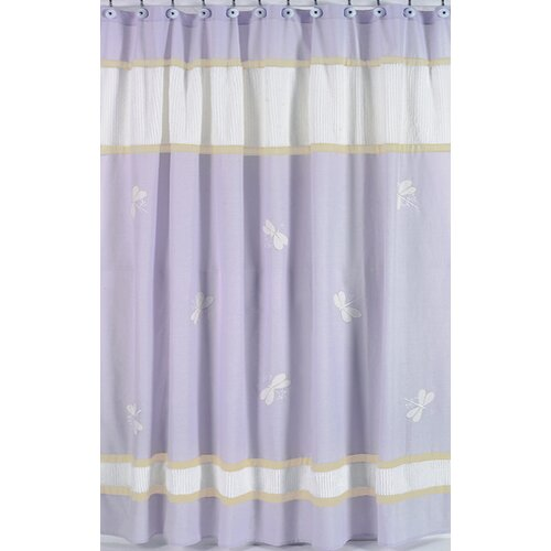 Sweet Jojo Designs Dragonfly Dreams Shower Curtain