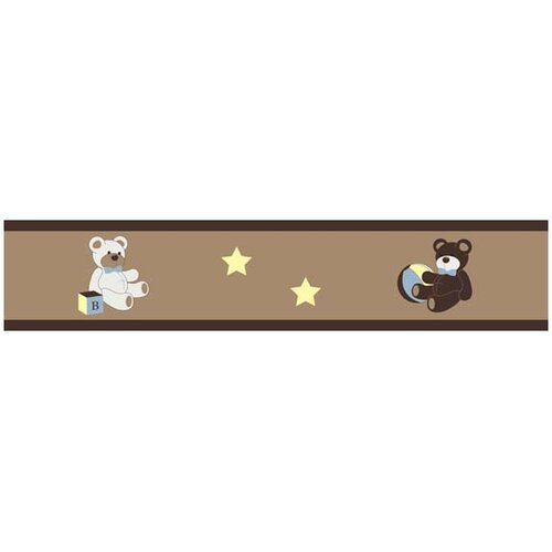 Sweet Jojo Designs Teddy Bear Wallpaper Border