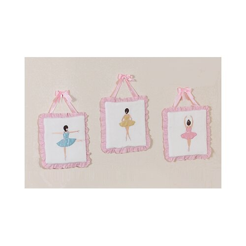 Sweet Jojo Designs Ballerina Collection Hanging Art