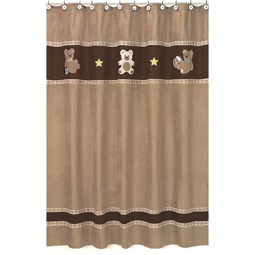 Sweet Jojo Designs Teddy Bear Shower Curtain