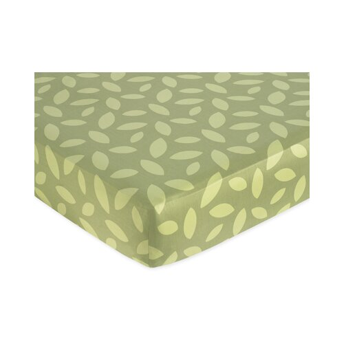 Sweet Jojo Designs Jungle Time Fitted Crib Sheet