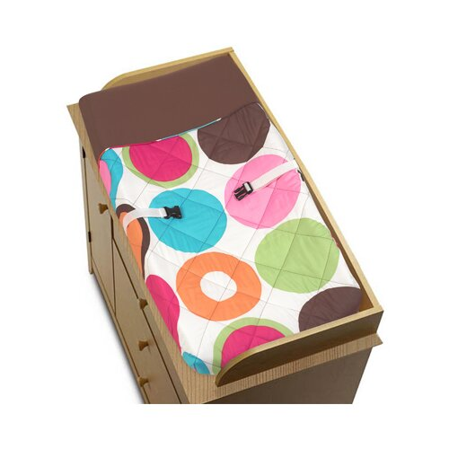 Sweet Jojo Designs Deco Dot Collection Changing Pad Cover