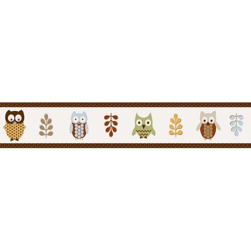Sweet Jojo Designs Night Owl Wallpaper Border