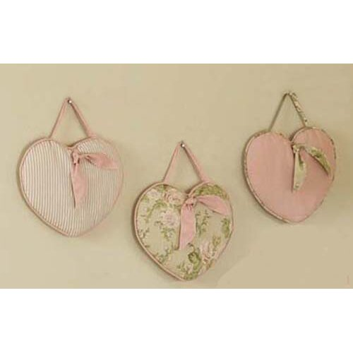Sweet Jojo Designs 3 Piece Annabel Hanging Art Set