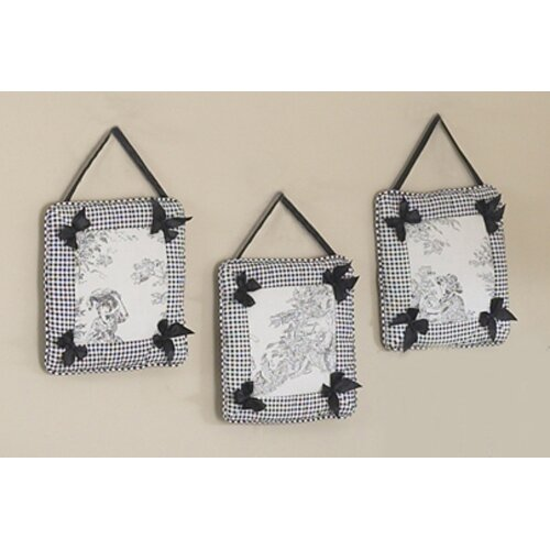 Sweet Jojo Designs Black Toile Hanging Art