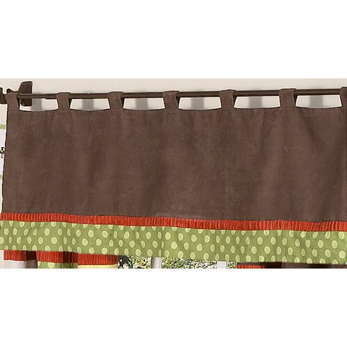 "Sweet Jojo Designs Forest Friends Tab Top 54"" Curtain Valance"