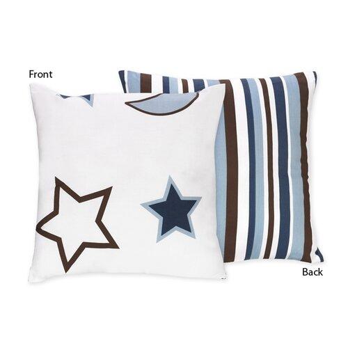 Sweet Jojo Designs Starry Night Decorative Pillow