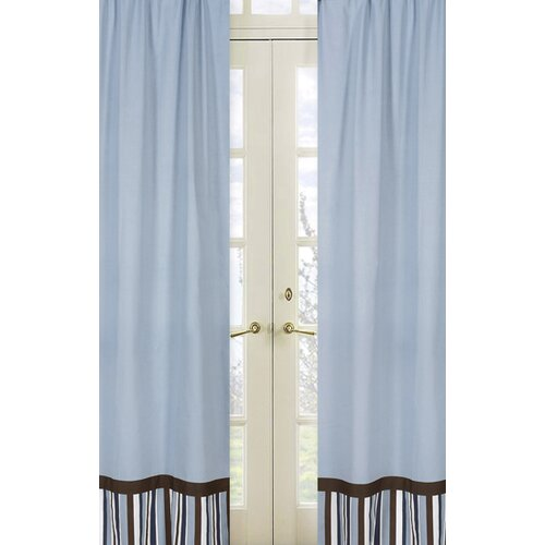 Sweet Jojo Designs Starry Night Rod Pocket Curtain Panel