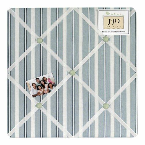 Sweet Jojo Designs Argyle Green Blue Memo Board