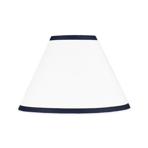 Sweet Jojo Designs Hotel White and Navy Collection Lamp Shade