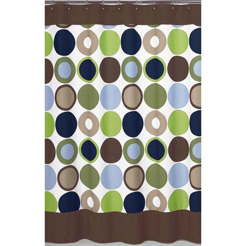 Sweet Jojo Designs Designer Dot Shower Curtain