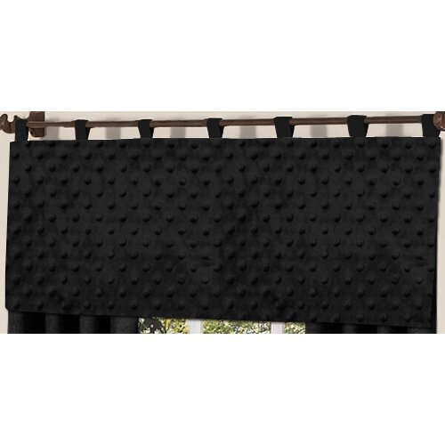 "Sweet Jojo Designs Minky Dot 54"" Curtain Valance"