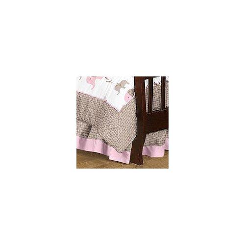 Sweet Jojo Designs Elephant Toddler Bed Skirt