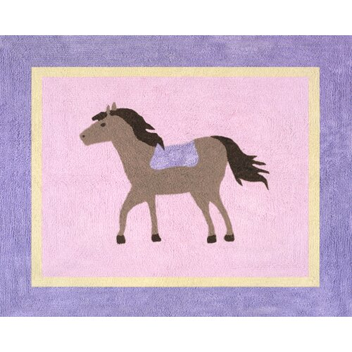 Sweet Jojo Designs Pony Collection Floor Rug