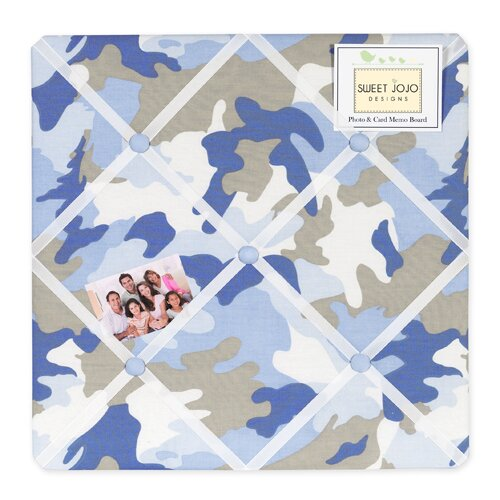 Sweet Jojo Designs Camo Memo Board