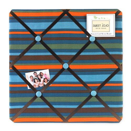 Sweet Jojo Designs Surf Blue Memo Board